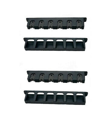 2 x Berkley Vertical Fishing Rod Racks-Neatly & Securely Stores 6 Fishing Rods