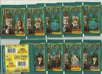 2007 PANINI Harry Potter and Order of the Phoenix 10 Sealed Packets