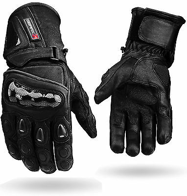 PowerAir Motorbike Motorcycle Protection Gloves Knuckle Shell Protection