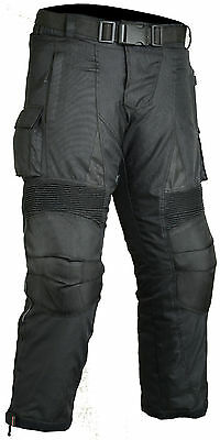 Dry Motorbike Motorcycle Trousers Armour Protection Wind/ Waterproof CE approved