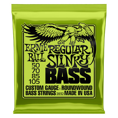 **Ernie Ball Regular Slinky 50-105 Electric Bass Strings 2832**