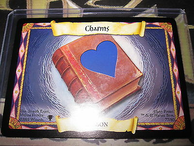Harry Potter Trading Card Game Quidditch Cup Tcg Charms 77/80 Com En Mint