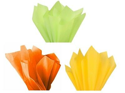 Easter Decorations - Bright Tissue Paper Sheets - Egg / Yellow Chick / Bunny