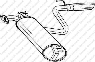 TOYOTA CELICA Bosal Exhaust Rear Silencer 228-469 1.8 08/99-09/05
