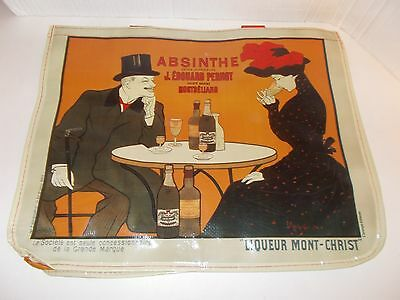 Absinthe Pernot Alcohol Advertising Large Reuseable Shopping Bag Tote New