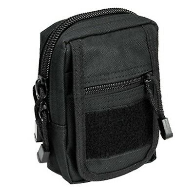 NcSTAR VISM Accessory Tactical Modular MOLLE Small Utility Hunting Pouch Black