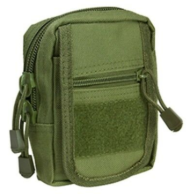 NcStar VISM Accessory Tactical MOLLE/PALS Small Utility Pouch OD GREEN CVSUP2934