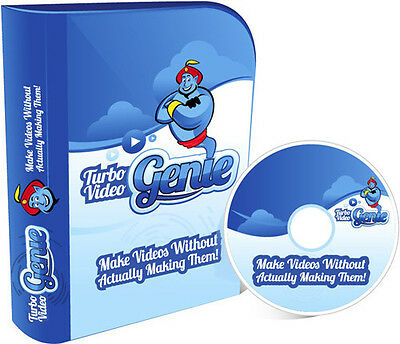 Create Easy Content Videos Using Turbo Video Genie Software- CD