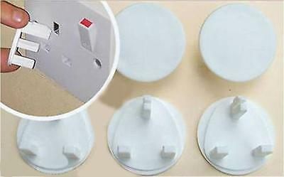 Mains Electrical Plug Socket Safety Protector Cover Inserts Child Baby Proof