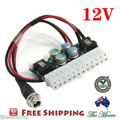 DC 12V 160W Pico ATX Switch PSU Car Auto MINI ITX ATX Power Supply Module AU