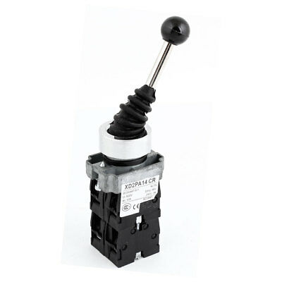 Panel Mounting Latching Monolever Switch 4 Poles 5 Position 3A 240V AC