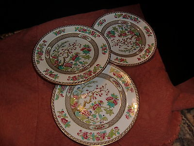 Spode Copeland's  Indian Tree Side  Plates x3 - early 20th century