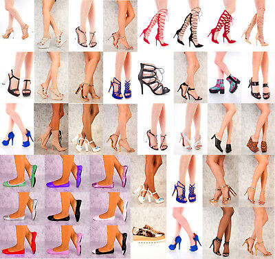 NEW Wholesale Lot Mix Fashion High Heel Platform Evening Pump Women Sandal Shoes