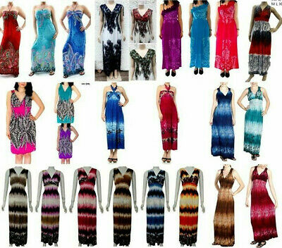 Wholesale Lot Tyedye Bohemian Boho Hippie Gypsy Summer Sundress Size S M L Xl