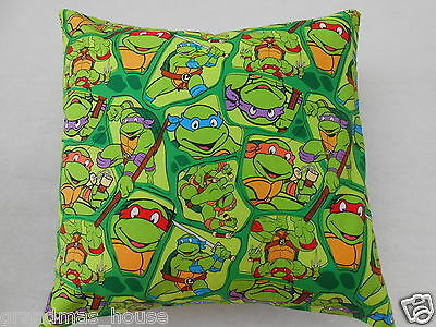 Teenage Mutant Ninja Turtle Cushion Cover - 40cm x 40cm - Perfect Gift!!!