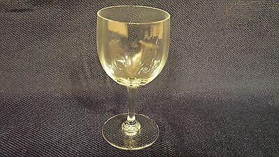1 Baccarat Crystal Montaigne Optic Sherry Glass