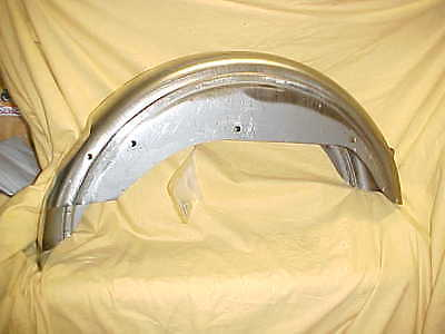 Harley,FX,FXE 73-84,New rear fender, bare metal ,replaces OEM perfectly