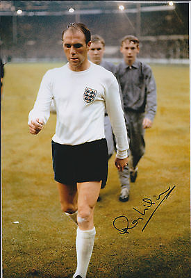 Ray WILSON SIGNED Autograph England 1966 World Cup Winner 12x8 Photo AFTAL COA
