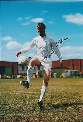 Jack CHARLTON SIGNED COA Autograph Photo AFTAL 1966 England World Cup Leeds Utd