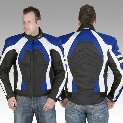 Rayven Stinger CE Armour Waterproof Motorcycle Jacket Motorbike Back Protector