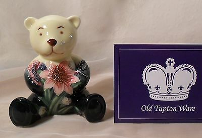 New & Boxed Old Tupton Ware SUMMER BOUQUET TEDDY - TW5907