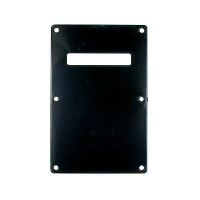 (D77) Cavity Cover guitar Back Plate Fits Strat style Guitar ,Black ABS