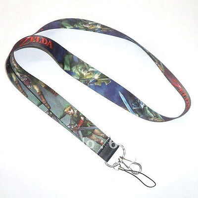 The Legend of Zelda Link Lanyard Keys ID Neck Cell Phone Strap