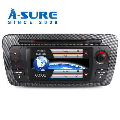 DVD Player Car GPS Radio Sat Nav Stereo Bluetooth For SEAT IBIZA 2009-2013 New