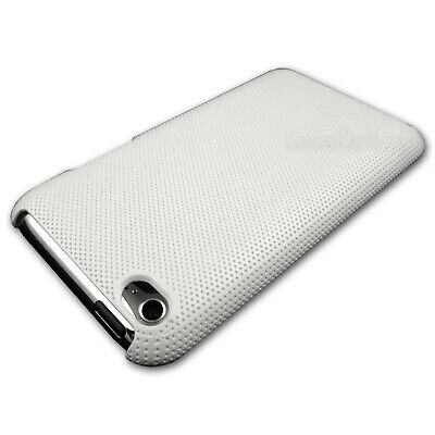 NEW White Textured Hard Back Case for iPod Touch 4 4th GEN 4G Plastic Cover