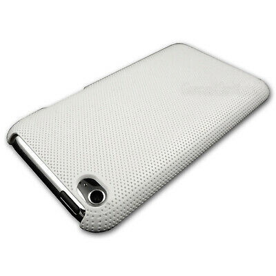 White Textured Hard Back Case for iPod Touch 4 4th GEN 4G Plastic Cover