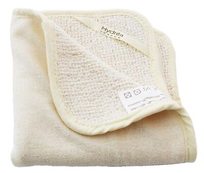 Hydrea Antibacterial Bamboo Face Body Washcloth Dual Sided Wash Hand FBS30