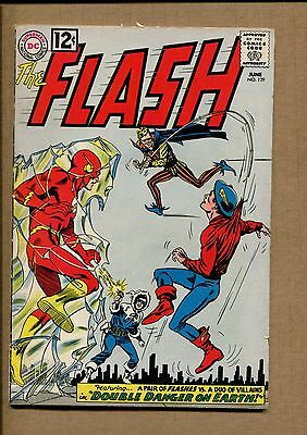 Flash #129 - Double Danger on Earth  - 1966 (Grade 4.0) WH