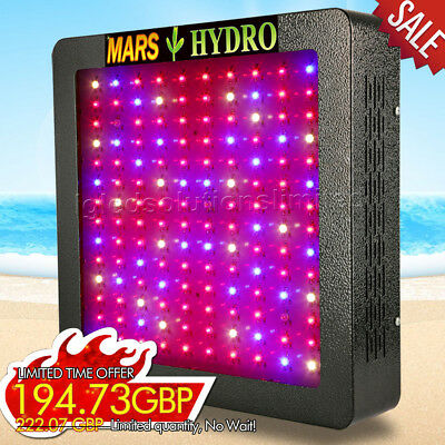 Mars II 700W Led Grow Light Lamp Full Spectrum IR for Indoor Plant Veg Flower