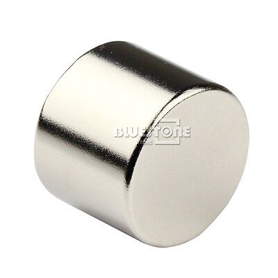 N50 Strong Small Disc Round Cylinder Magnet 25 mm x 20 mm Rare Earth Neodymium