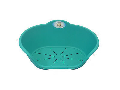 Heavy Duty Plastic Teal Aqua Green Pet Bed Dog Cat Beds Basket Beds Cats Dogs