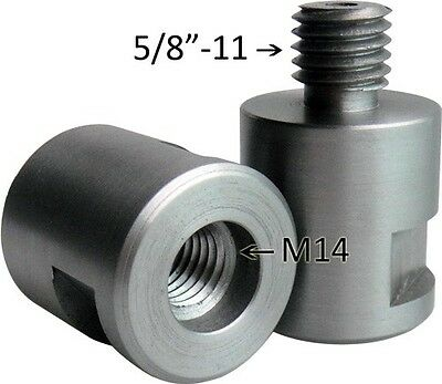 """Adapter 5/8""""-11 to M14"""