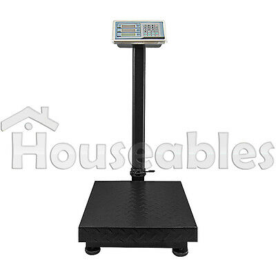 600 LB x .05 Digital Price Computing Shipping Warehouse Postal Platform Scale