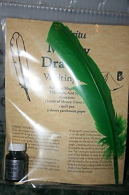 MONEY ink writing set -Wicca, Witch