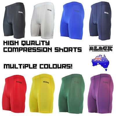 Mens Compression Wear Skin Shorts Tights Sports AFL Rugby Soccer Running Hockey