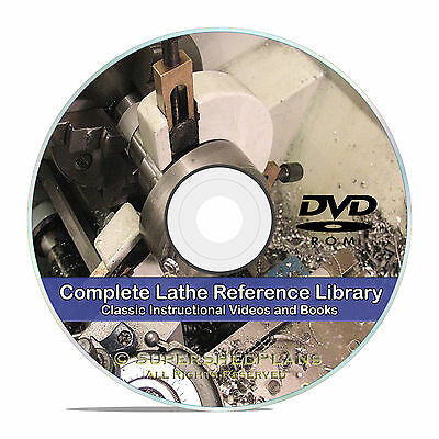 How To Run a Lathe, Turning, Thread and Gear Cutting, South Bend, Books CD V23