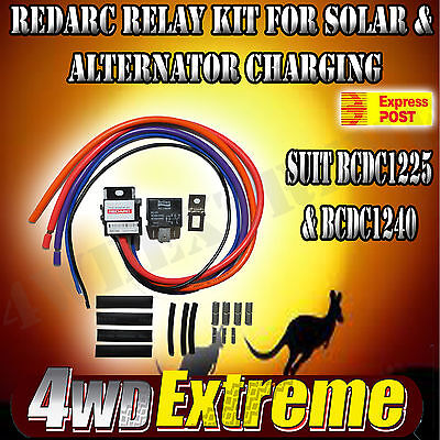 GENUINE REDARC RELAY KIT RK1260 12Volt 60/80A CHANGEOVER SUIT BCDC SOLAR  MINI