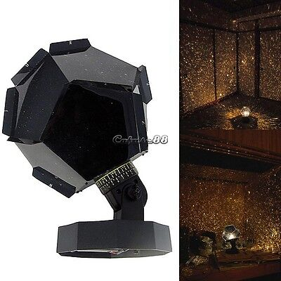 Night Romatic Gift Cosmos Star Sky Master Projector Starry Night Light Lamp Good