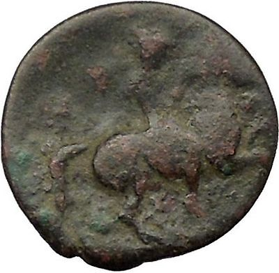 KRANNON in THESSALY 300BC Poseidon Sea God Cult Horse Ancient Greek Coin i36487
