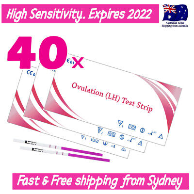 40x Ovulation (LH) Tests Urine Strips+20 Urine Cups OPK Kit GET PREGNANT QUICKER