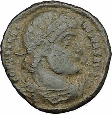 Constantine I the Great  Ancient Roman Coin Glory of Army Standard  i39169