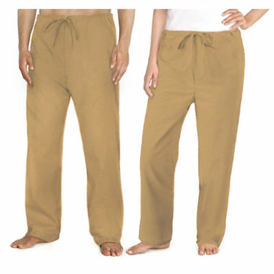 KHAKI SCRUBS Pants Tan Bottoms Best Convict Costume JAIL or PRISON Piper Uniform