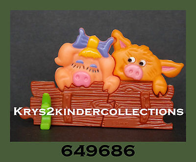 Jouet kinder Puzzle 3D Freunde... wie wir Pinky & Porky 649686 Allemagne 1994