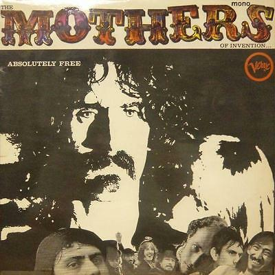 The Mothers Of Invention(Vinyl LP 1st Issue)Absolutely Free-Verve-UK-Ex/Ex