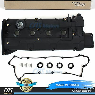 GENUINE Valve Cover & Gasket for 01-03 Hyundai Elantra Tiburon OEM 2241023510