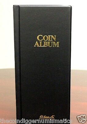 Harris 80 Pocket Coin Stock Book Album for 2x2 Holders Storage